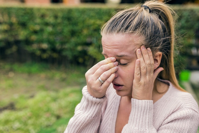 sintomas que producen la afección de los senos paranasales